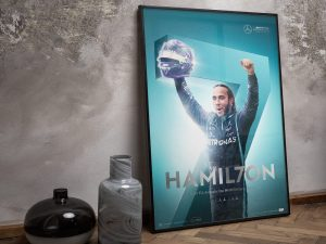 Mercedes-AMG Petronas F1 Team - HAMIL7ON - F1® World Drivers' Champion 7th Title | Collector's Edition image 2 on GreatBritishMotorShows.com