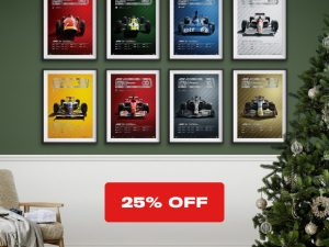 F1® X'Mas Set - The Decades | Collector's Edition - X'Mas Set image 1 on GreatBritishMotorShows.com