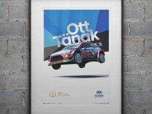 Hyundai Motorsport - Rally Estonia 2020 - Ott Tänak | Collector's Edition image 2 on GreatBritishMotorShows.com