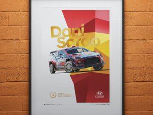 Hyundai Motorsport - Rally Italia Sardegna 2019 - Dani Sordo | Collector's Edition image 2 on GreatBritishMotorShows.com