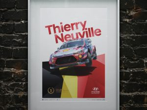 Hyundai Motorsport - Rallye Monte Carlo 2020 - Thierry Neuville | Collector's Edition image 2 on GreatBritishMotorShows.com