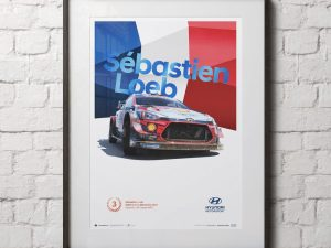 Hyundai Motorsport - Rally Turkey Marmaris 2020 - Sébastien Loeb | Collector's Edition image 2 on GreatBritishMotorShows.com