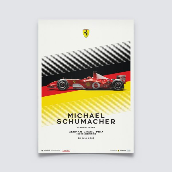 Ferrari F2002 - Michael Schumacher - German Grand Prix - 2002   Limited Edition image 1 on GreatBritishMotorShows.com