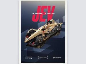 DS TECHEETAH - Formula E Team - Jean-Éric Vergne | Limited Edition