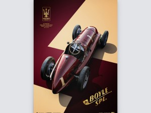 Maserati 8CTF - The Boyle Special - Indianapolis 500 Mile Race - 1940 | Collector's Edition