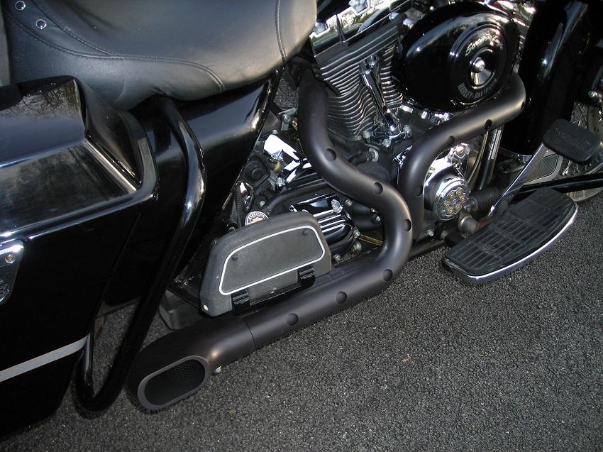 hacker custom exhaust