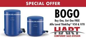 HART BOGO offer for Alfa Laval ThinkTops V50 & V70.
