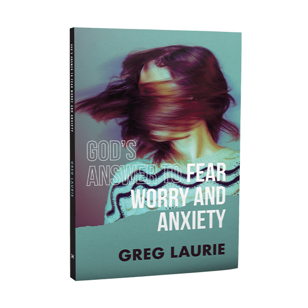 God's Answer to Fear Worry and Anxiety Book Cover