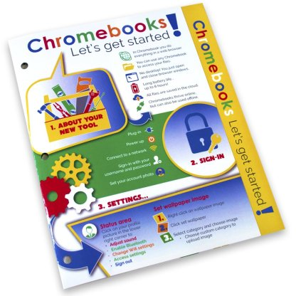 Chromebook Guide Binder Insert Cover