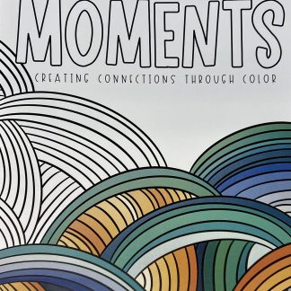 cover of coloring book moments