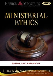 Ministerial Ethics - 2011 - MP3-0