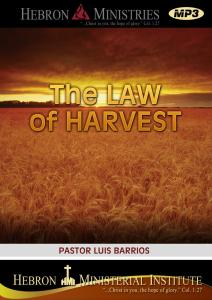 The Law of Harvest – 2012 – MP3-0