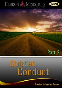 Christian Conduct Series Part 2 – 2012 – MP3-0