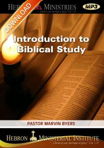 Introduction to Biblical Study - 2010 - Download-0