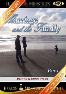 Marriage and the Family I - 2007 - Download-0