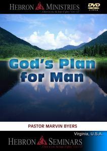 God's Plan for Man - VA Seminar - DVD-0