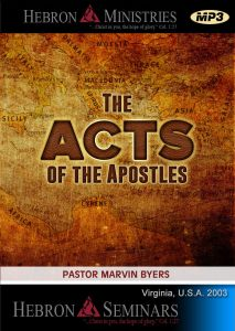 The Acts of the Apostles - MP3-0