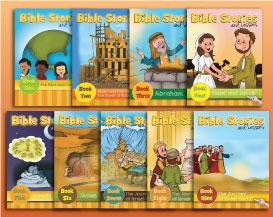 Bible Stories and Lessons Series: Books One through Nine-0