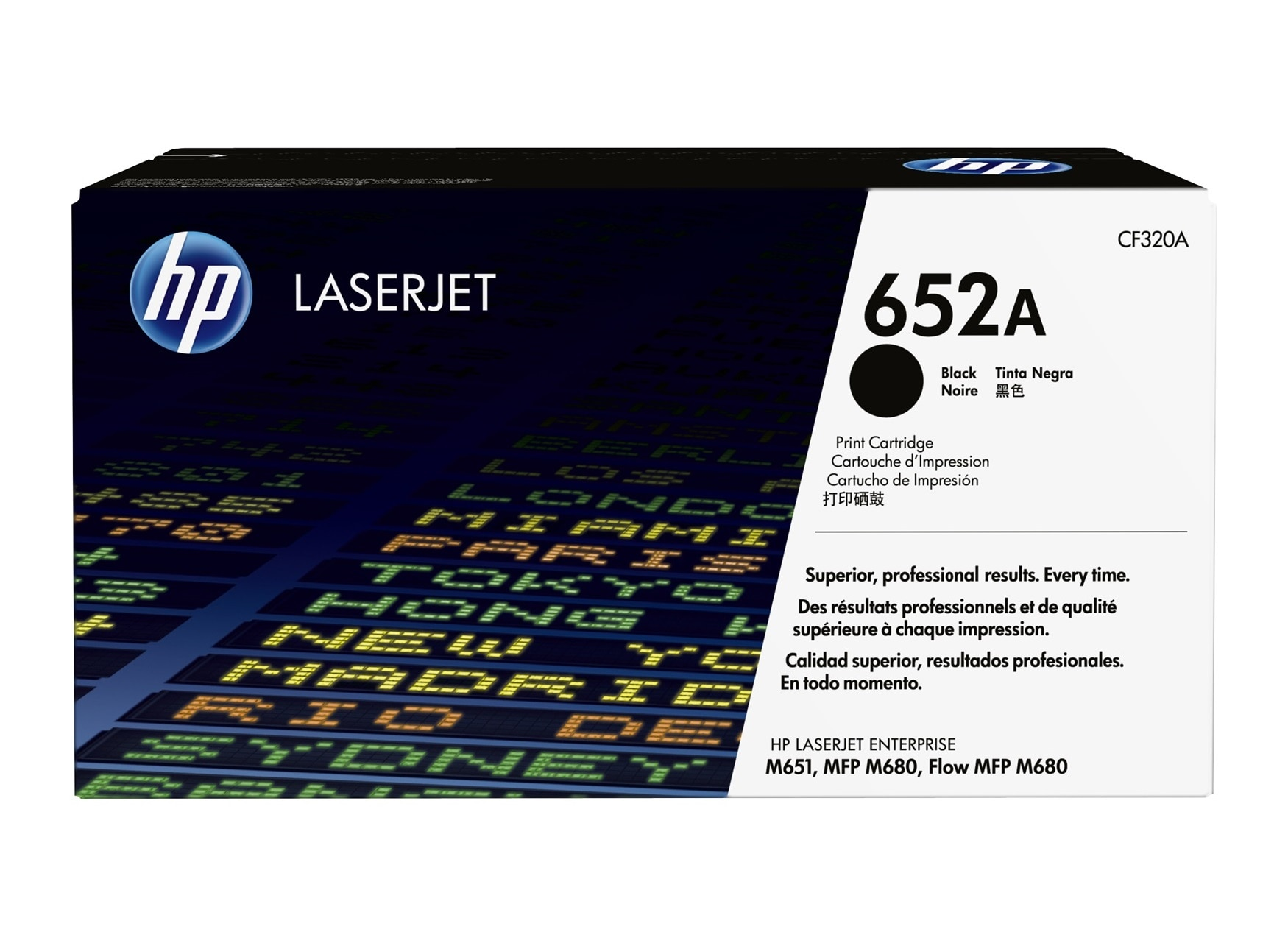 Hp 652a Black Original Laserjet Toner Cartridge Hp Store Uk