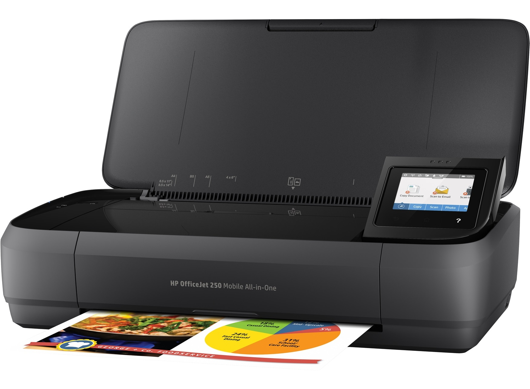 Hp Officejet 250 Mobile All In One Printer Hp Store Uk