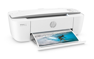 Printer printing out a picture