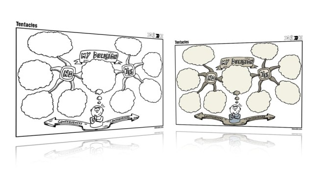 Tentacles Visual Thinking Template