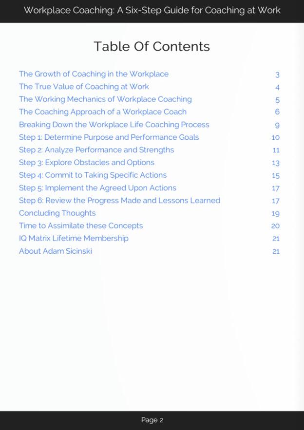 Coaching at Work eBook