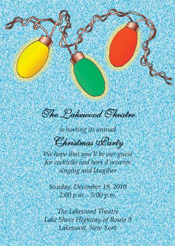 Christmas Party Invitation, CPIT-10