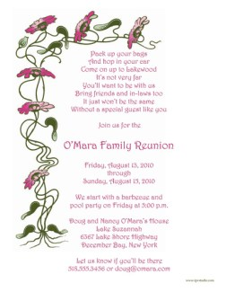 Family Reunion Letter Template, frt-08