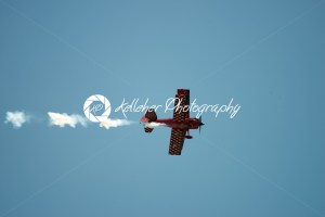 ATLANTIC CITY, NJ – AUGUST 17: Bi-Plane performing at Annual Atlantic City Air Show on August 17, 2016 - Kelleher Photography Store