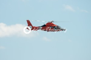 ATLANTIC CITY, NJ – AUGUST 17: US Coast Guard Helicopter at Annual Atlantic City Air Show on August 17, 2016 - Kelleher Photography Store