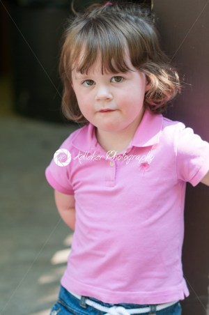 Close up Portrait of young girl at sunset - Kelleher Photography Store