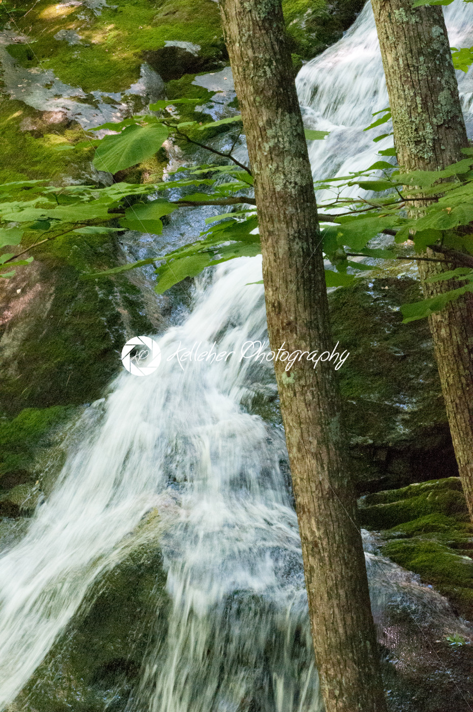 Crabtree Falls along the Blue Ridge Parkway near Asheville North Carolina - Kelleher Photography Store
