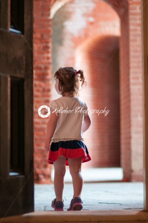 FORT DELAWARE, DELAWARE CITY, DE – AUGUST 1: Fort Delaware State Park, Historic Union Civil War Fortress that housed Confederate Prisoners on August 1, 2015 - Kelleher Photography Store