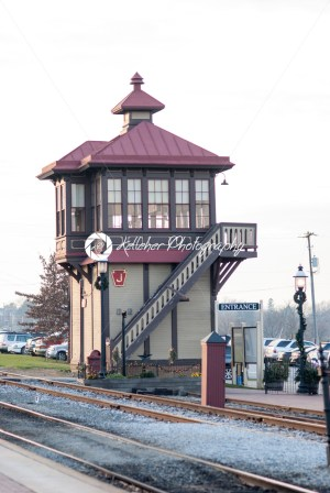 STRASBURG, PA – DECEMBER 15: Train Station Overlook Tower in Strasburg, Pennsylvania on December 15, 2012 - Kelleher Photography Store