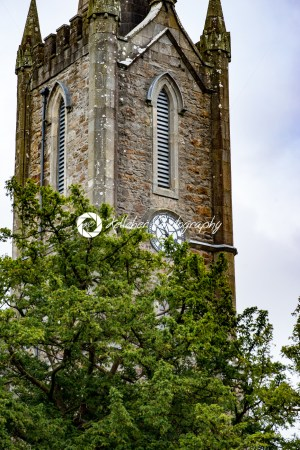 DONEGAL, IRELAND – AUGUST 25, 2017: Donegal Castle in Donegal town Ireland - Kelleher Photography Store