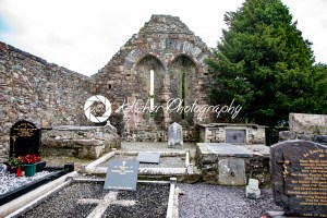 KILLARNEY, IRELAND – AUGUST 20, 2017: Aghadoe Church and Round Tower in Killarney Ireland - Kelleher Photography Store