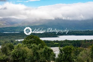 Mountains, Fields and Lake on Cloudy Day in Killarney Ireland - Kelleher Photography Store