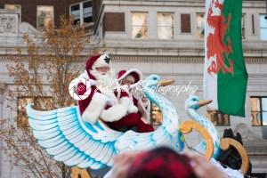 Philadelphia, PA – November 23, 2017: Santa Claus at Annual Thanksgiving Day Parade in Center City Philadelphia, PA - Kelleher Photography Store