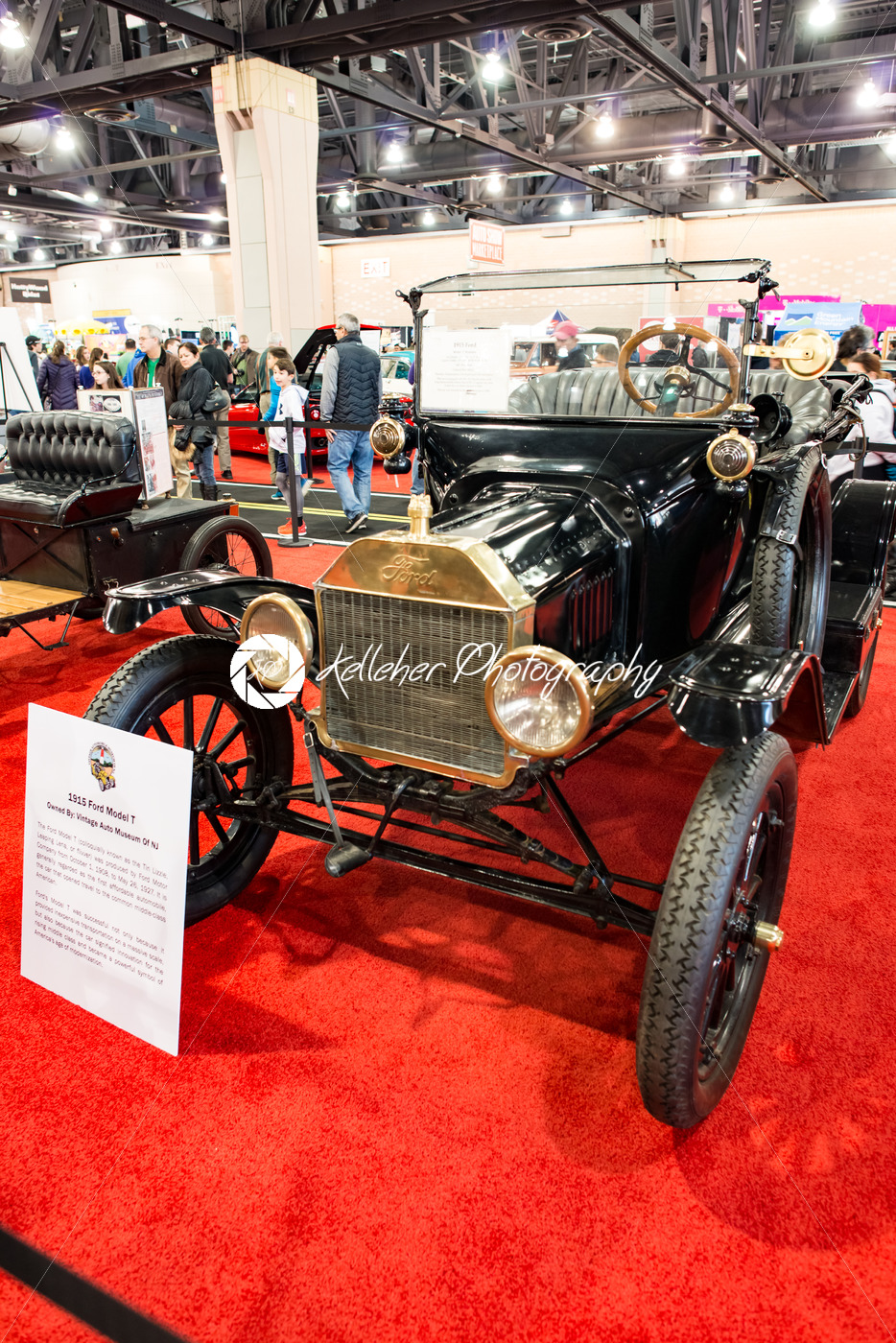 PHILADELPHIA, PA – Feb 3: 1915 Ford Model T at the 2018 Philadelphia Auto Show - Kelleher Photography Store