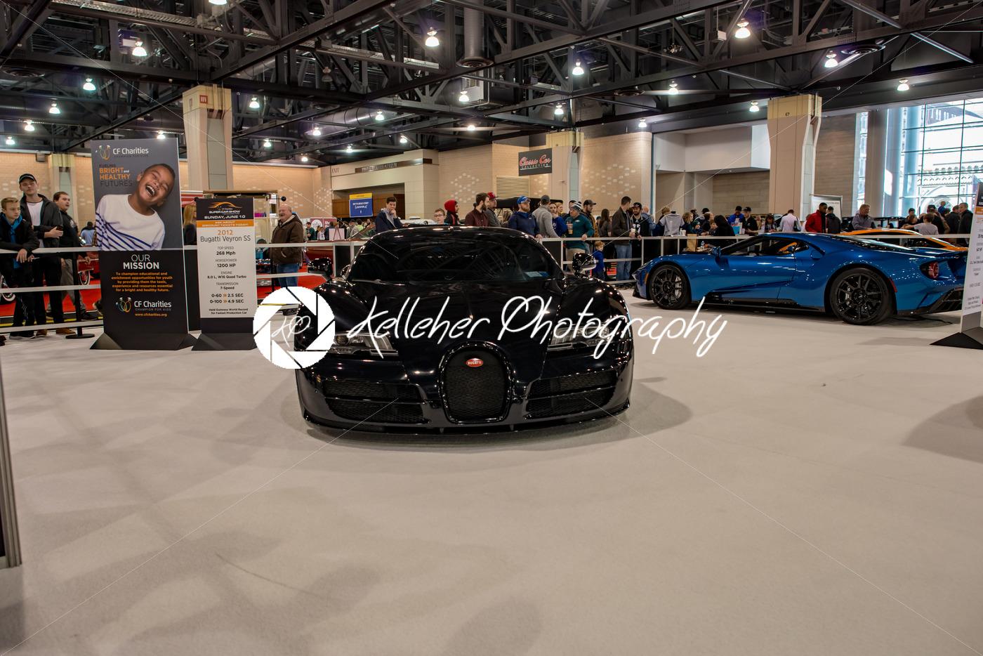 PHILADELPHIA, PA – Feb 3: Bugatti at the 2018 Philadelphia Auto Show - Kelleher Photography Store