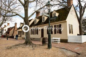 Williamsburg, Virginia – March 26, 2018: Historic houses and buildings in Williamsburg Virginia - Kelleher Photography Store
