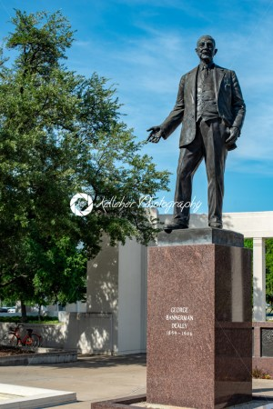 Dallas, Texas – May 7, 2018: George Bannerman Dealey Monument in Dealey Plaza, Dallas, Texas - Kelleher Photography Store