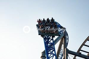 Ocean City, NJ – June 11, 2018: New GaleForce Roller Coaster on Playland Castaway Cove pier in Ocean City - Kelleher Photography Store