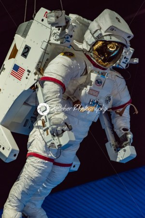 Cape Canaveral, Florida – August 13, 2018: Astronaut Suit at NASA Kennedy Space Center - Kelleher Photography Store