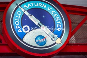 Cape Canaveral, Florida – August 13, 2018: Sign for Apollo Center at NASA Kennedy Space Center - Kelleher Photography Store
