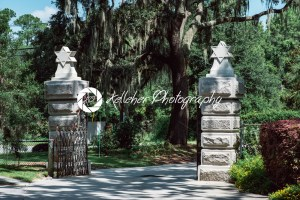 Jewish entrance Cemetery Statuary Statue Bonaventure Cemetery Savannah Georgia - Kelleher Photography Store