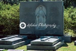 Maria E Larkin Goette headstone Bonaventure Cemetery Savannah Georgia - Kelleher Photography Store