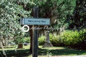 Sign for Mullryne Way in Bonaventure Cemetery Savannah Georgia - Kelleher Photography Store