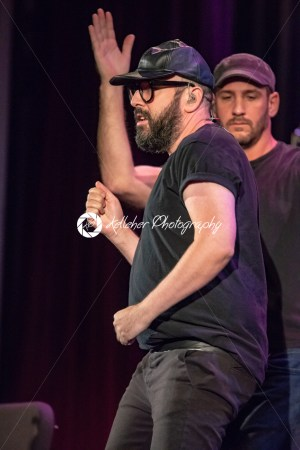 ITHACA, NY – NOVEMBER 4, 2018: Bass Tim Nordwind of the band OK Go performs on their Live Videos tour at the State Theatre of Ithaca - Kelleher Photography Store